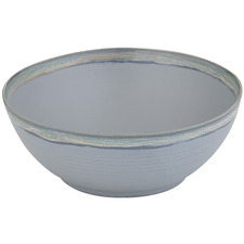 Cesious Blue Lorne Stone Serving Bowl