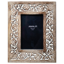 Antique Brown Anqul Photo Frame