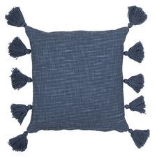 Luna Tasselled Cotton Cushion