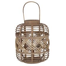 Natural Healey Bamboo Lantern