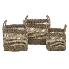 3 Piece Marriot Seagrass Basket Set