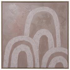 Mahalo Framed Canvas Wall Art