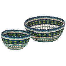 2 Piece Rheta Seagrass Basket Set