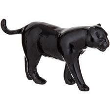 Black Pantera Panther Sculpture