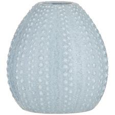 Light Blue Urchin Ceramic Vase
