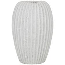 White Milos Ceramic Vase
