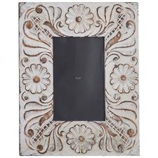 """Taupe Washed Arya 4 x 6"""" Mango Wood Photo Frame"""