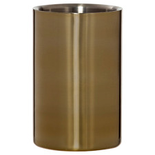 Gold Renzo Stainless Steel Wine Cooler