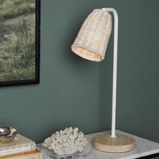Abelia Rattan Table Lamp