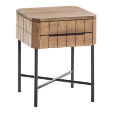 Sydney Mango Wood Bedside Table