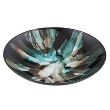 Damali Glass Decorative Platter
