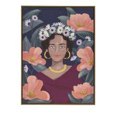 Lola Framed Canvas Wall Art