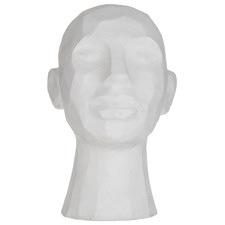 White Romulous Bust