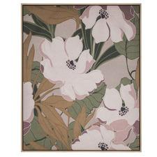 Flower Garden Framed Canvas Wall Art