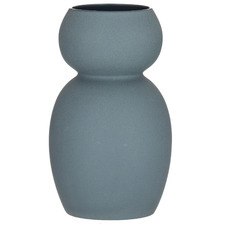 Veron Petrol Stoneware Vase