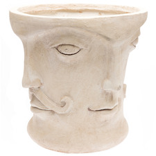 Art Deco Face Planter