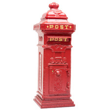 Red Manchester Post Mail Box