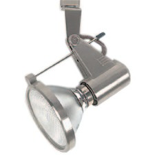 TK Track Halogen Adjustable Head Spotlight in Silver