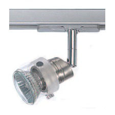 TE 6.7 cm Track Light in Satin Chrome