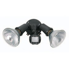 Twin PAR38 Sensor Flood Light