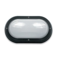 Energy Efficent Plain Trim Fluorescent Bulkhead Light