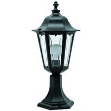 Turin Pedestal Wall Top Mount Lantern