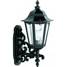 Turin Hexagon Pedestal Top Wall Lantern