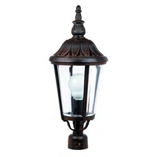 Lucca Post Mount Lantern Head