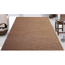 Quality 100% Natural Handmade Jute Brown Rug