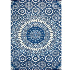 Chatai Azul Reversible Indoor Outdoor Rug