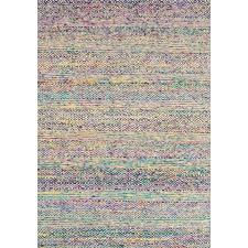 Rainbow Khadi Wool & Silk Rug