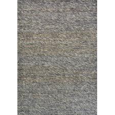 Charcoal Choti Hand Made Wool-Blend Rug