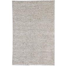 Silver Link Braided Wool-Blend Rug