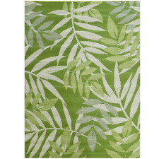 Olive Green Chatai Classic Outdoor Rug