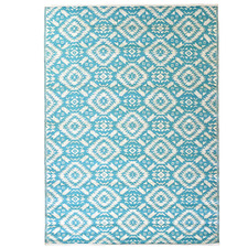 Sky Blue Chatai Classic Outdoor Rug