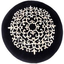 Kashan Hand Made Round Rug