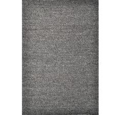 Charcoal Adelaide Hand Woven Wool Rug