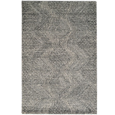 Charcoal Newcastle Hand-Tufted Wool-Blend Rug