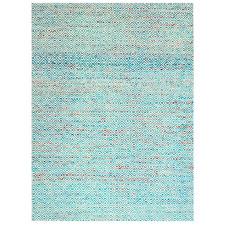 Blue Chunari Flat-Woven Rug
