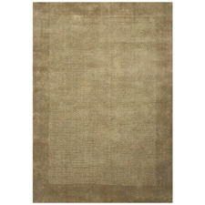 Taupe Elite Hand-Tufted Wool Rug