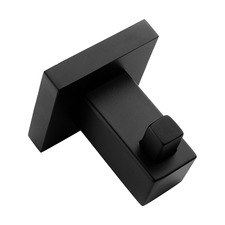 Black Stainless Steel Bathroom Hook