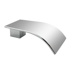 Chrome Polly Waterfall Bathtub & Basin Wall Spout