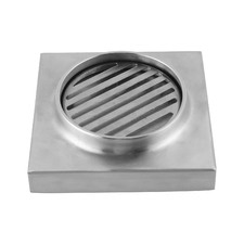 Chrome Grate Stainless Steel Floor Waste Drain Grate