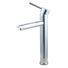 Tall Round Euro Basin Mixer