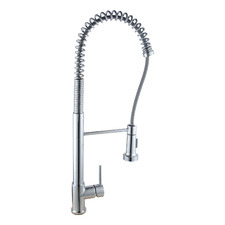 Tall Spring Pull-Out Kitchen Sink Mixer Tap