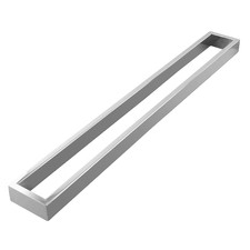 Omar Stainless Steel Single Bar Towel Rail