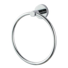 Round Euro Stainless Steel Hand Towel Ring
