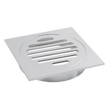 11 x 11cm Square Shower Grate Floor Drain