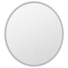 Silver Cargill Round LED Bathroom Mirror