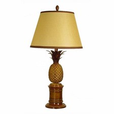 Bermuda Pineapple Table Lamp in Brown (Base Only)